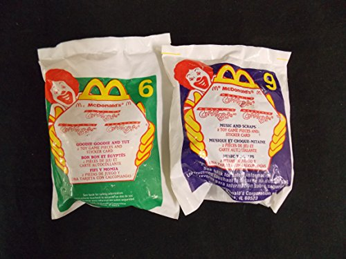 mcdonalds-happy-meal-toys-crazy-bones-set-of-2-music-and-scraps-and-goodie-goodie-and-tut-this-is-no
