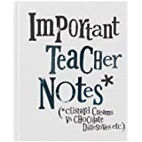 Bright Side Important Teacher Notes Book - Custard Creams Vs Chocolate Digestives by Bright Side