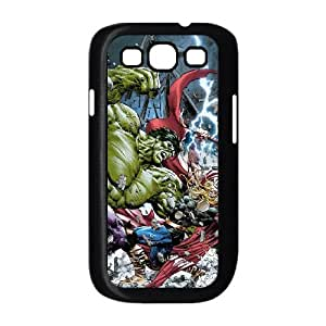 Samsung Galaxy S3 9300 Cell Phone Case Black Avengers 002 Delicate gift JIS_309288