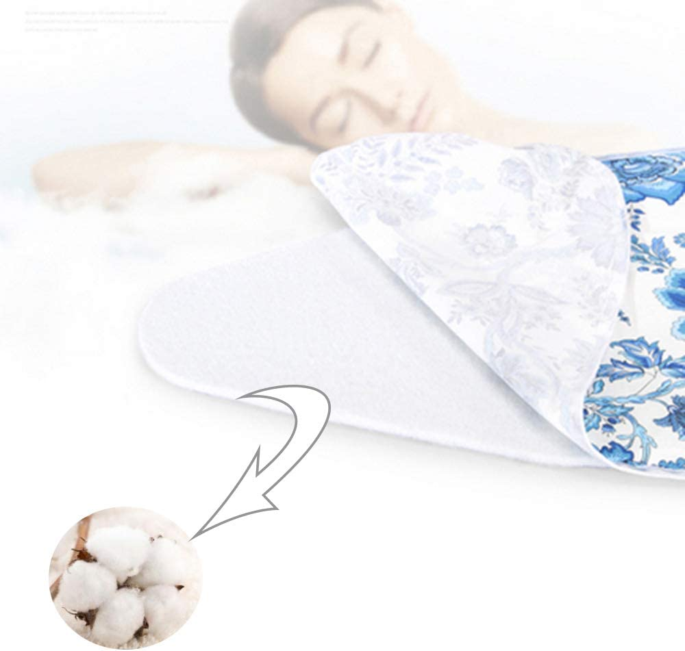 GLJING Ironing Board Cover Extra Large, XL, 100% Cotton, With Elastic Cord, with 4 clips, Easily Handle and Fits Board Beautifully, 150 x 60 cm 125x45cm