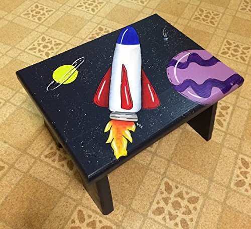 Rocket Ship Step Stool