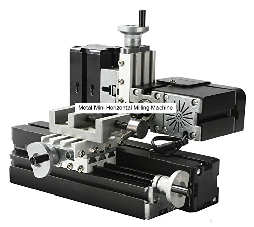 Horizontal Milling Machine >> Amazon Com Tz20005mm 60w Metal Mini Horizontal Milling