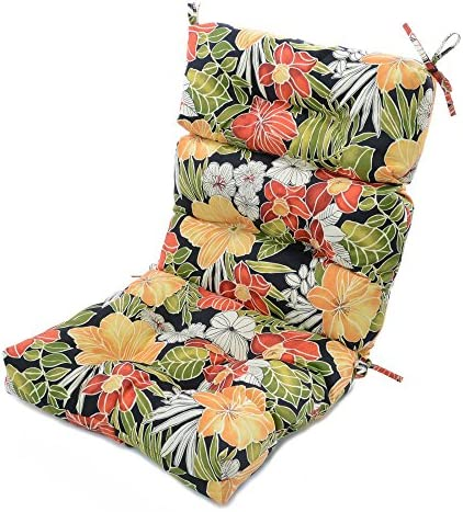 Greendale Home Fashions 44 x 22 in. Outdoor High Back Chair Cushion