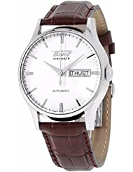 Tissot Visodate White Dial SS Leather Automatic Mens Watch T0194301603101
