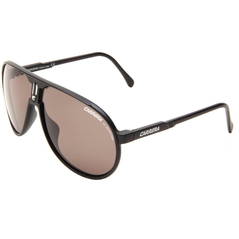 Amazon.com: Carrera Champion/L/S Sunglasses,Semi Shiny Black ...