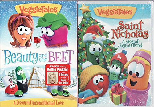 Veggie Tales Beauty and the Beet (With 8 Songs By Kellie Pickler) / St. Nicholas A Story of Joyful Giving (St Nicholas A Story Of Joyful Giving)