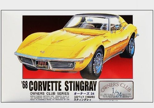 ¡ '68 juicing - Corvette (19) (1/24) Owners Club (Plastic model) [micro Ace Arii]