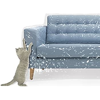 Plastic Couch Cover For Pets | Cat Scratching Protector Clawing Deterrent | Heavy  Duty Water Resistant Thick Clear Vinyl | Sofa Slipover For Moving And Long  ...