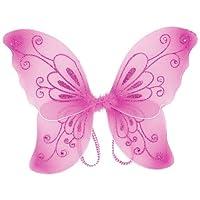 Alas de hadas chispeantes para niñas (rosa, talla única) de Cutie Collection
