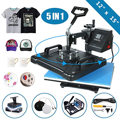 SURPCOS 5 in 1 Heat Press Machine 12