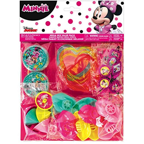 Favor Pack Disney Minnie Mouse Happy Helpers Collection 6 Pack Amscan 399049 Party Accessory