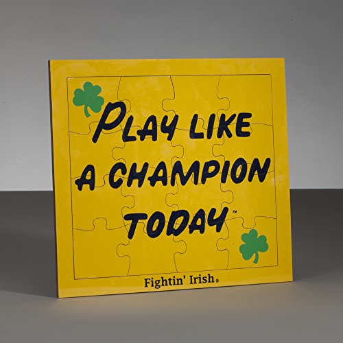 South Bend Woodworks Notre Dame Kid's Play Like a Champion Today 16 Piece Jigsaw - Today Notre Dame Game