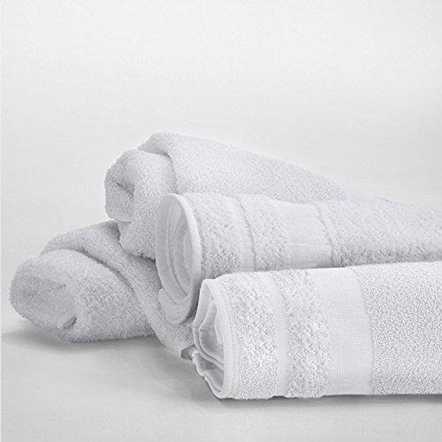 12-Pack WestPoint Home 7088587 Martex Solid Pool Towel White