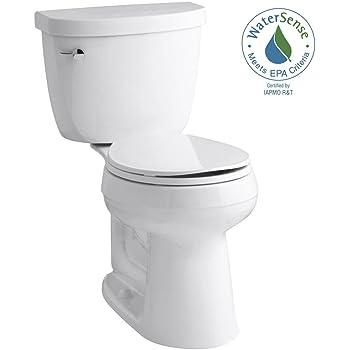 Kohler K15409wh Cimarron 1 28 Gpf Round Toilet White 2