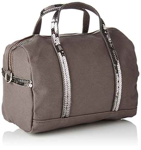 Vanessa Bruno Gym Bag Pm - Bolsos bolera Mujer Gris (Anthracite)