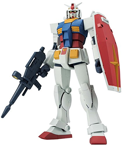 Bandai Tamashii Nations RX-78-2 Gundam Ver. A.N.I.M.E. Mobile Suit Gundam, Robot Spirits Action Toy -