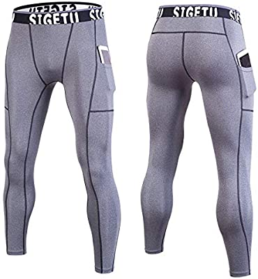 Fitness Pants Men's Stretch Fast-drying Tights Training Yoga
