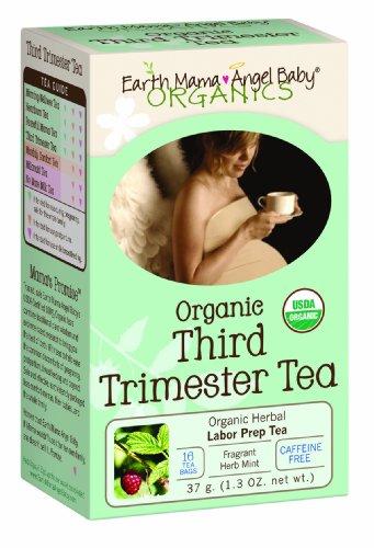 Земля мама Angel Baby Органический Третий триместр Чай, 16 Пакетированный / коробка (в упаковке 3)