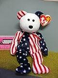 American Flag Ty Bear