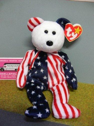 American Flag Ty Bear (American Flag Teddy Bear)
