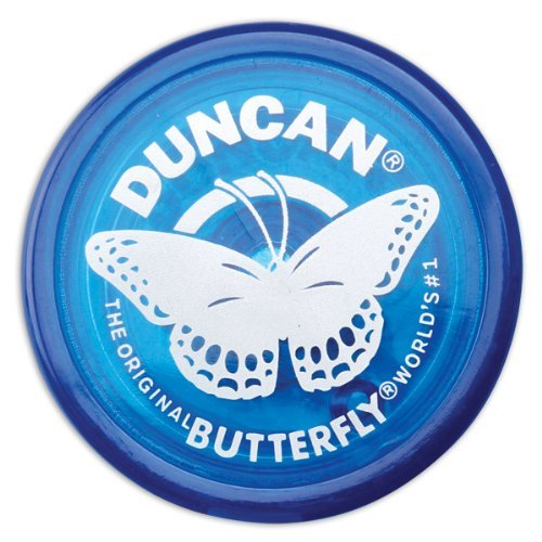 Duncan Butterfly Blue Yo Yo - Classic Yo Yo Duncan