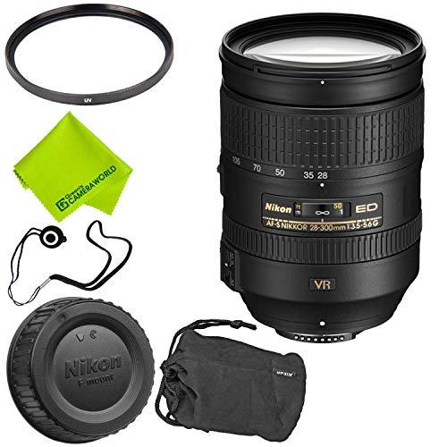 Nikon AF-S NIKKOR 28-300mm f/3.5-5.6G ED VR Lens Base Bundle