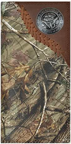Custom Badger U S Navy Long Realtree AP Camo Wallet