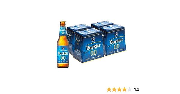 Buckler 00 Cerveza - 4 Packs de 6 Botellas x 250 ml - Total: 6 L: Amazon.es: Alimentación y bebidas