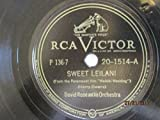 Sweet Leilani b/w The Last Time I Saw Paris (Vocal refrain by Bob Carroll) [10