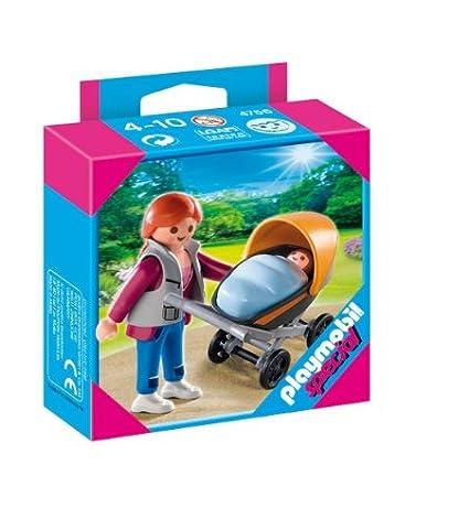 Playmobil - Mamá con carrito (4756)