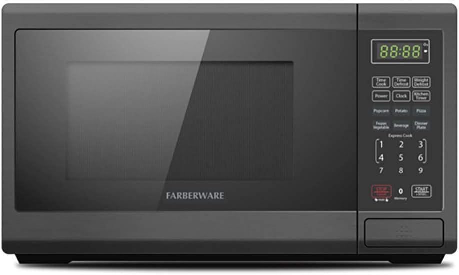Farberware Classic FMO07ABTBKC 0.7 Cu. Ft. 700-Watt Microwave Oven, Black Matte
