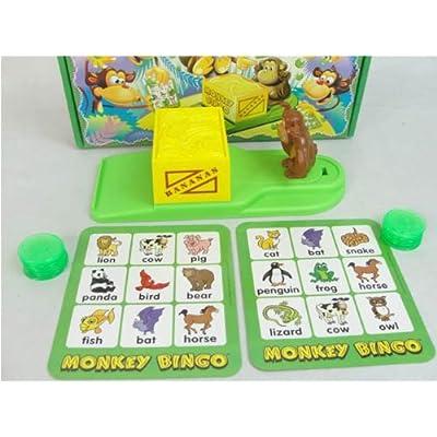 Popular Playthings Monkey Bingo Card Game: Toys & Games