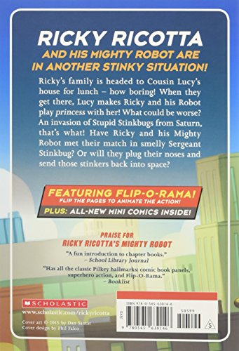 Buy ricky ricotta book 3