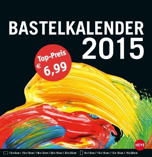 Bastelkalender groß schwarz 2015