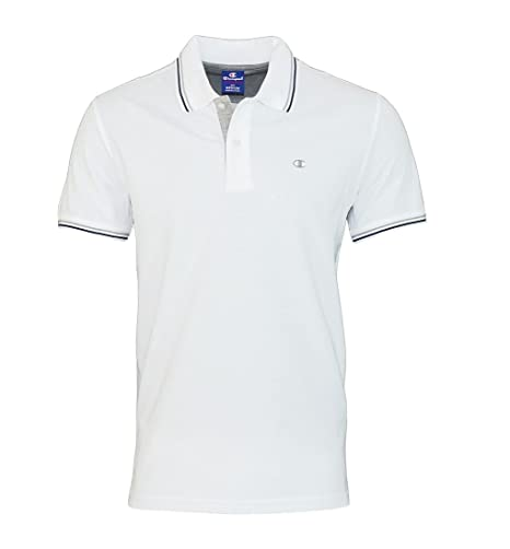Champion m-polo Hombre au Polo Gallery Cotton WHT (blanco), Bianco ...
