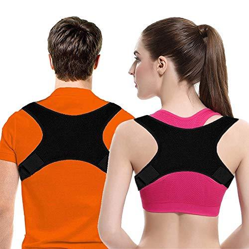Posture Corrector Thoracic Back Brace Posture Improvement Relief Shoulder Back and Neck Pain Improve Bad Posture Improve Bad Posture for Men and Women (Anpassen Oder Anpassen)