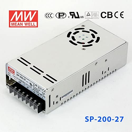Meanwell SP-200-27 Power Supply 200W 27V 7.5A PFC