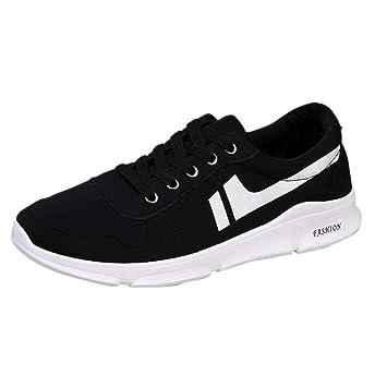WWricotta Zapatillas de Correr Hombre Color de Hechizo Casual Cómodas Calzado para Andar Deporte Zapatos Bambas de Running Deportivas Antideslizante: ...
