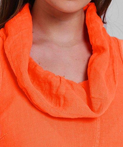Kleid Koralle Neck Koralle Damen Bettwäsche Grizas Cowl p7IqP