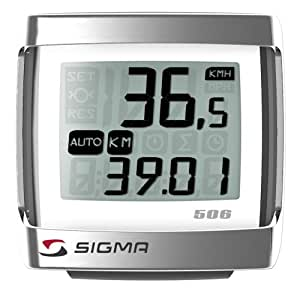 SIGMA BC506 5-Function Topline Wired Bicycle Speedometer