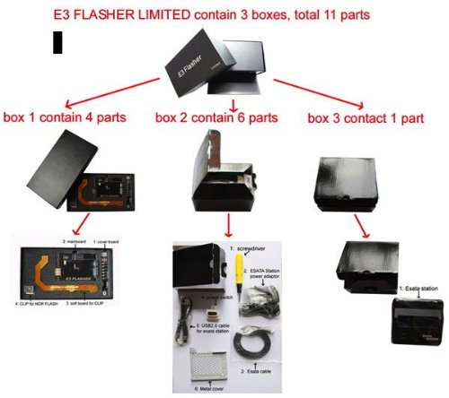 New packing newest original e3 flasher limited edition including.