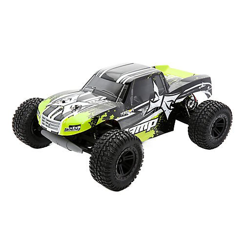 ECX Electrix 03028T2 AMP MT 2WD Monster RTR Truck (1:10 Scale), Black/Green