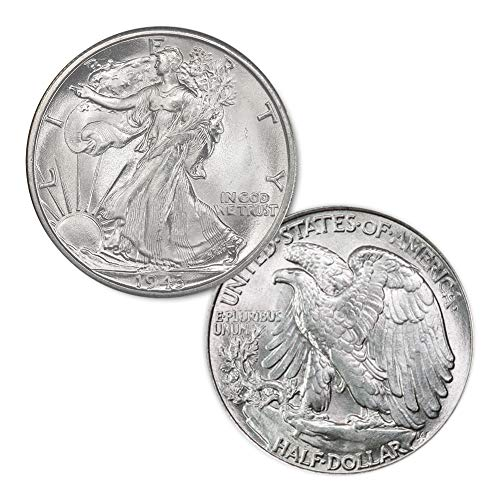 1943 P Walking Liberty Half Dollar 50C Brilliant ()