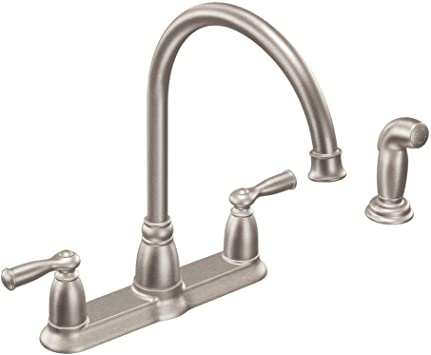 Moen Inc Ca87000srs Stainless Steel Kitchen Faucet Touch On Kitchen Sink Faucets Amazon Com