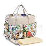 حقيبة كتف ماسنجر كبيرة للام لحمل اغراض الطفل متعددة الوظائف