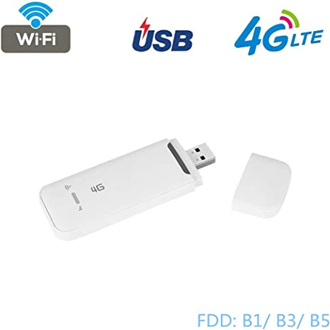 FDD LTE 4G Portable USB WiFi Wireless Router 2.4GHz Band Network Hotspot Adapter