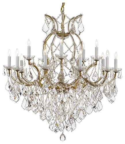 Maria Theresa Chandelier Crystal Lighting Chandeliers Lights Fixture Ceiling Lamp for Dining room, Entryway, Living room H38 X W37