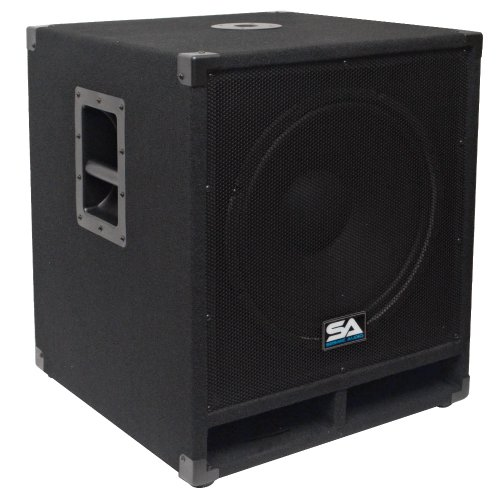 Seismic Audio - Baby-Tremor - 15'' Pro Audio Subwoofer Cabinet - 300 Watts RMS - PA/DJ Stage, Studio, Live Sound Subwoofer by Seismic Audio