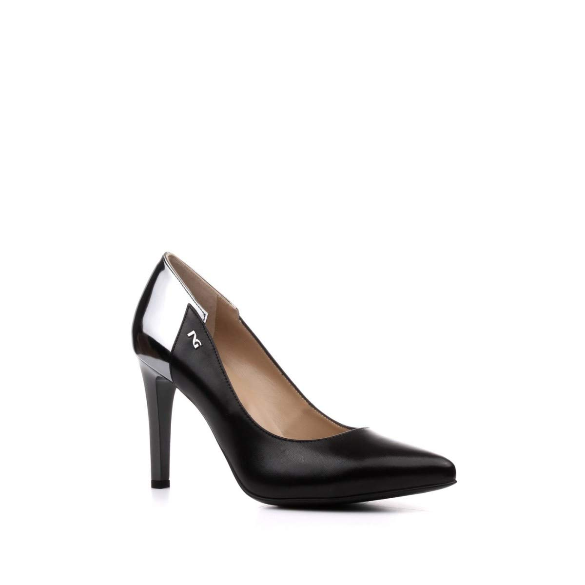 Nero Giardini DECOLT NEROGIARDINI A909340DE100 A909340 9340 Chaussures en Cuir Noir