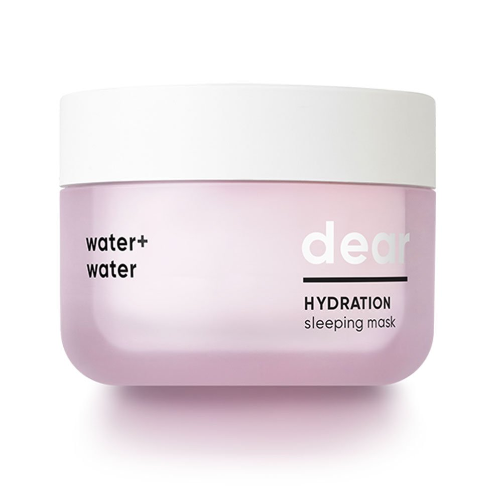 BANILA CO Dear Hydration Sleeping Mask, 100ml, All Skin Types, Paraben Free, Overnight Mask with Mint, Neem extracts